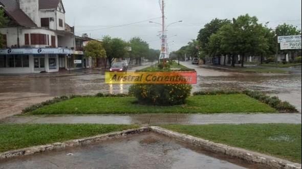 12 mm. de lluvia caída