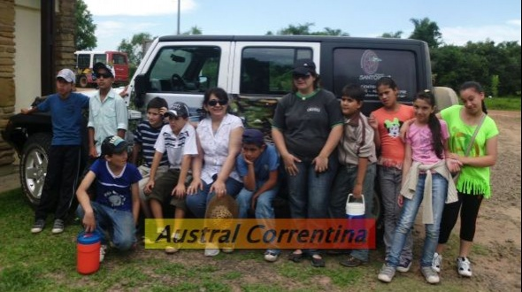 Escuela 646: Viaje a los esteros del Iberá
