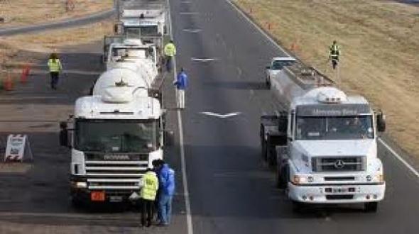 Restricción de circulación en rutas nacionales