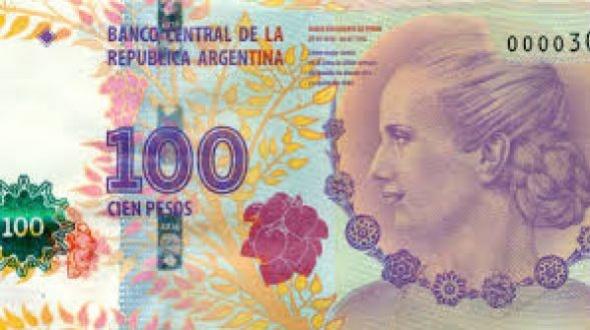El billete de 100 pesos de Evita reemplazará al de Roca