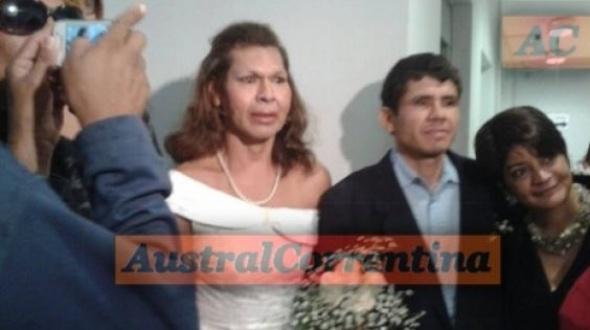 Se casó la primera pareja trans