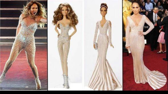 Jennifer López ya tiene su Barbie… pero sin sus distintivas curvas