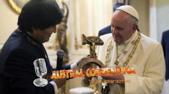 Susana Giménez criticó a Evo Morales por el regalo que hizo al Papa