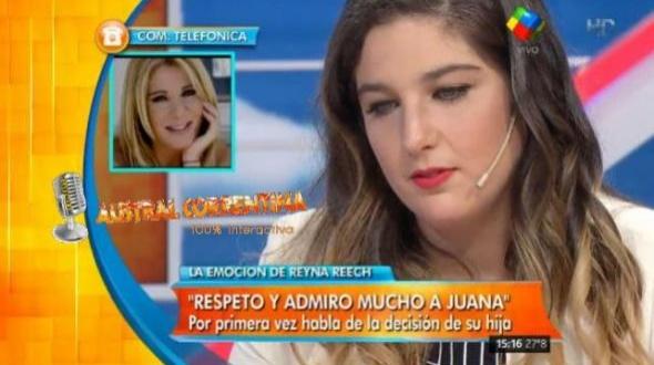 Juana Repetto está embarazada de un donante anónimo