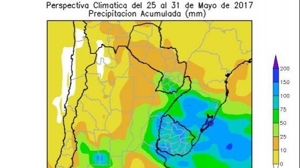 Se esperan más lluvias para los próximos días