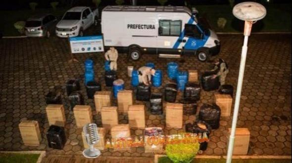 Prefectura: Secuestran mercadería valuada en más de tres millones de pesos