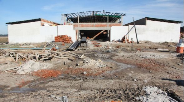 Se construye una nueva escuela para Monte Caseros