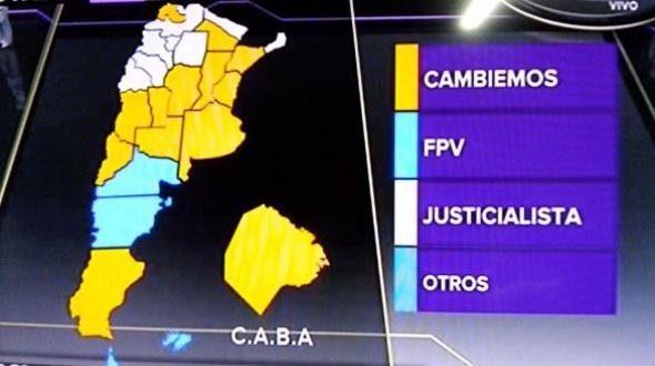 PASO: Resultados nacionales