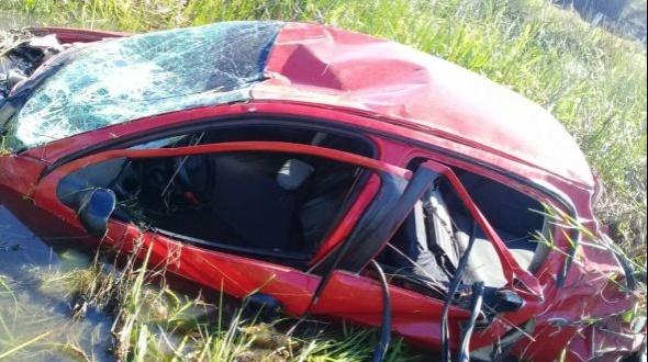 Un muerto y un herido grave en un siniestro vial sobre Ruta Nº5 cerca de Lomas de González