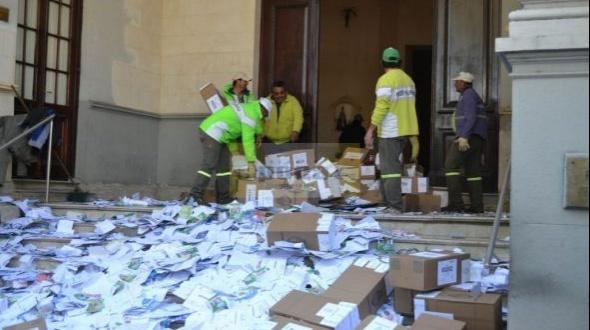 PASO 2017: retiran las urnas de la Legislatura y se cierra así el escrutinio