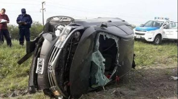 Un curuzucuateño perdió la vida en un despiste y vuelco en la ruta nacional 127