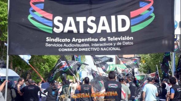 El paro del Satsaid modificó la programación de cable y aire