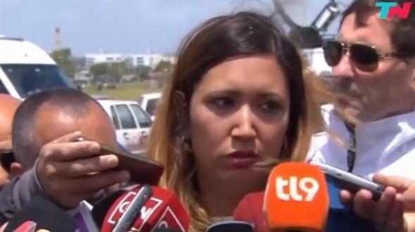 """Esposa de un submarinista: """"Me agredieron por lo que dije"""""""