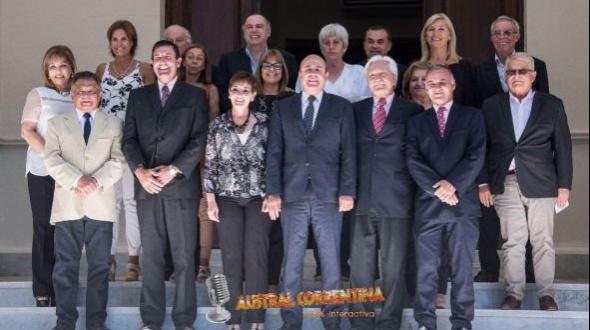Senado: Despedida a Fick, Pruyas y Fagetti