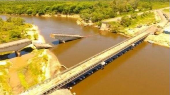 Habilitan el tránsito en la zona del puente sobre Arroyo Guazú