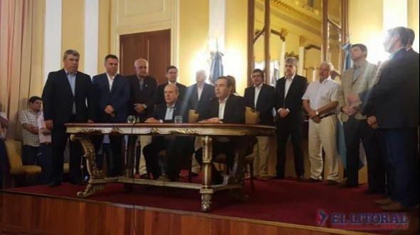 Valdés reclamará ante Nación por mayores inversiones de Salto Grande y Yaciretá