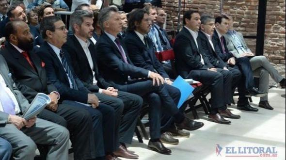 Macri y Valdés, juntos en presentación de plan nacional sobre Derechos Humanos