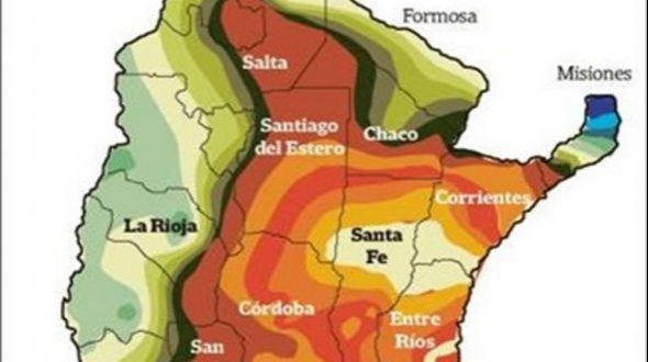 """Sequía: """"La situación es crítica y comparable con la de 2009"""""""
