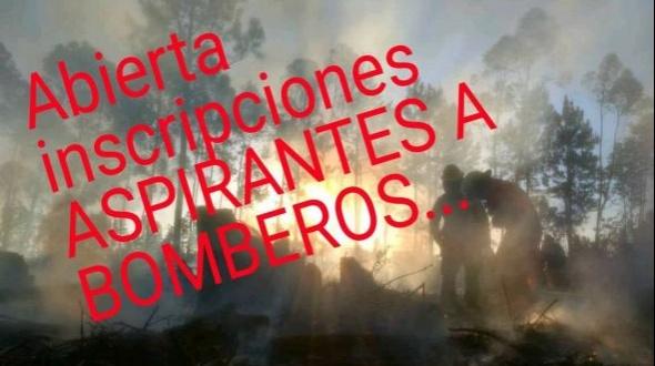 Inscripciones para el ingreso a bomberos voluntarios