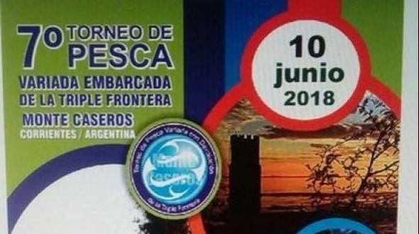 Se viene el 7º Torneo de Pesca Variada con Devolución de la Triple Frontera