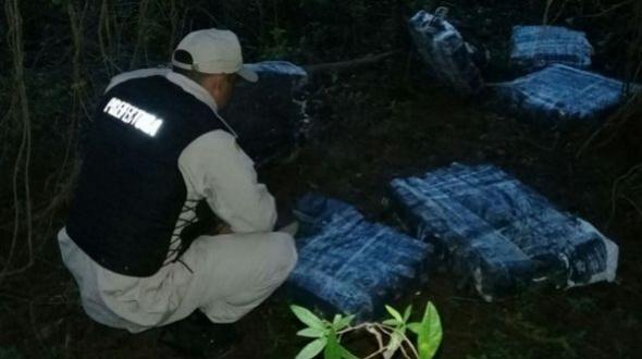 Secuestran casi dos toneladas de marihuana durante operativos en Corrientes y Misiones