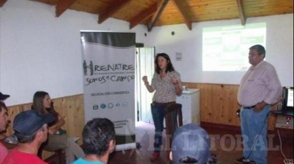 Renatre capacita en Mocoretá y Monte Caseros