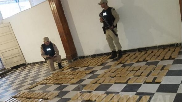 Incautaron más de 120 kilos de marihuana en Itatí