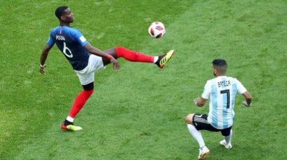 Francia 4 - Argentina 2