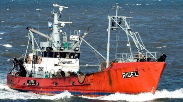 Prefectura halló el pesquero Rigel luego de 26 días de búsqueda