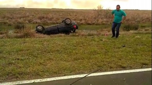 Tres muertos en un accidente cerca de Mantilla