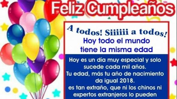 Feliz cumpleaños a todos!!!!