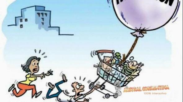 La inflación de octubre fue 5,4% y llegó a 39,5% en lo que va del año