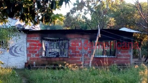Incendio se cobró la vida de una familia entera en Saladas: hay seis víctimas fatales