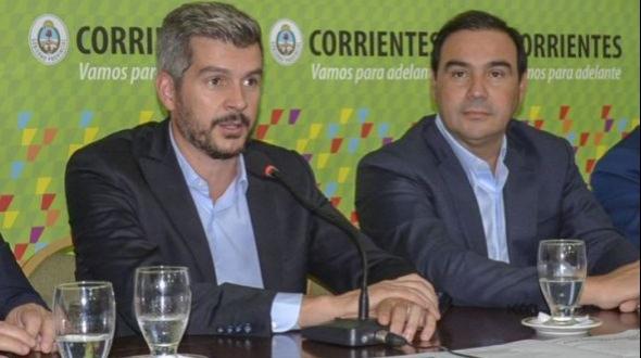 Marcos Peña llega mañana a Corrientes