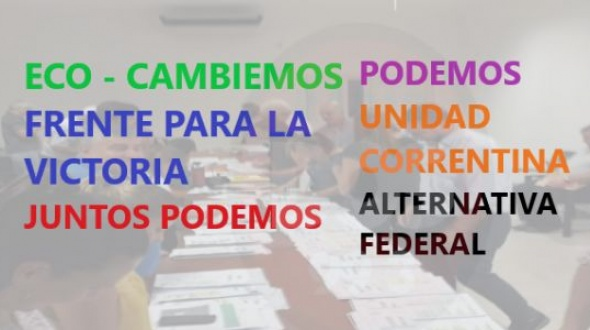 Elecciones en Corrientes: Seis frentes se inscribieron para el 2 de junio