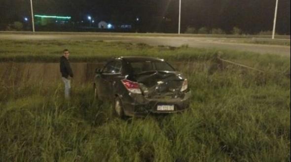 Colisión frente a la termas de Chajarí: Uno de los conductores es curuzucuateño