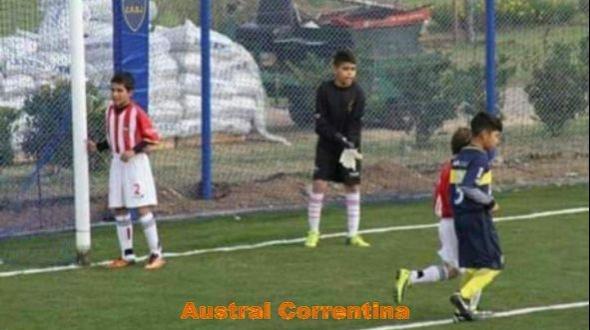 Confirman a Nahuel Escobar para participar del Torneo de Fútbol Infantil más grande de Latinoamérica