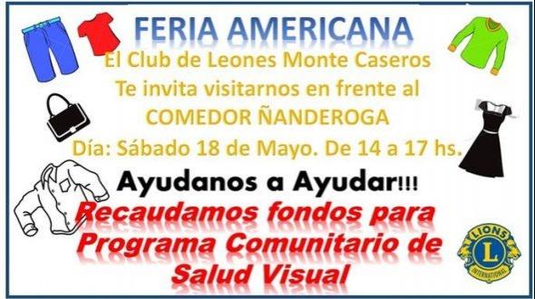Feria americana del Club de Leones