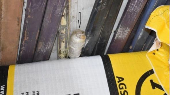 """""""Porotos verdes"""": Incautaron droga en un camión que iba a Brasil"""