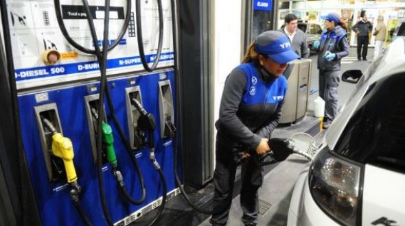 Julio comenzó con aumentos en el combustible