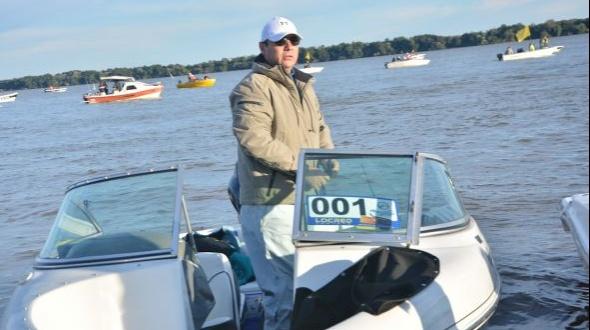 Valdés compitió en el Concurso de Integración de Pesca del Surubí