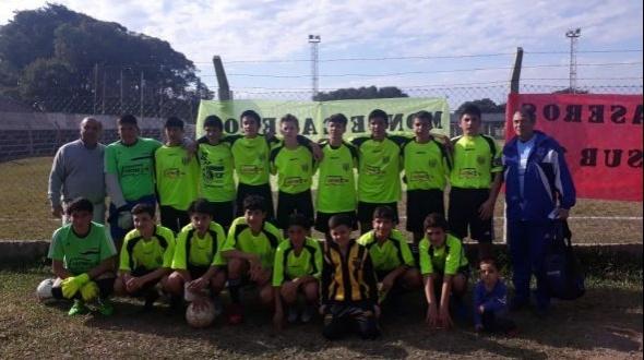 El seleccionado de fútbol sub 14 de Monte Caseros es campeón del zonal