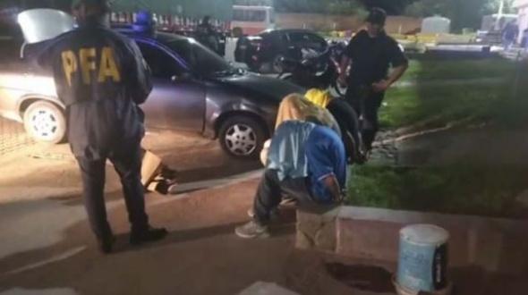 Confirmado: son policías los detenidos con marihuana en Goya