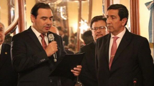 Buenaventura Duarte juró como nuevo Ministro de Justicia