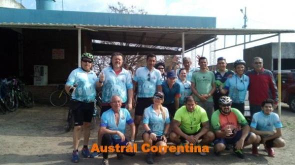 Ciclistas Montecasereños: 1er día del recorrido
