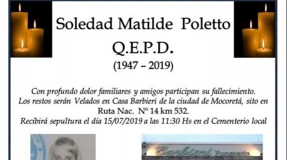 Soledad Matilde Poletto
