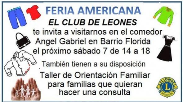 Club de Leones: Feria americana