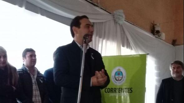 A pesar de las condiciones climáticas el gobernador visitará hoy Monte Caseros