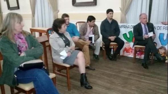 Vecinos autoconvocados por la seguridad en Monte Caseros