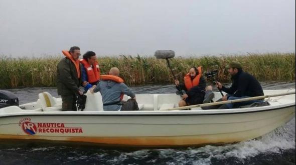 Javier Calamaro visitó los Esteros del Iberá junto a la TV Pública